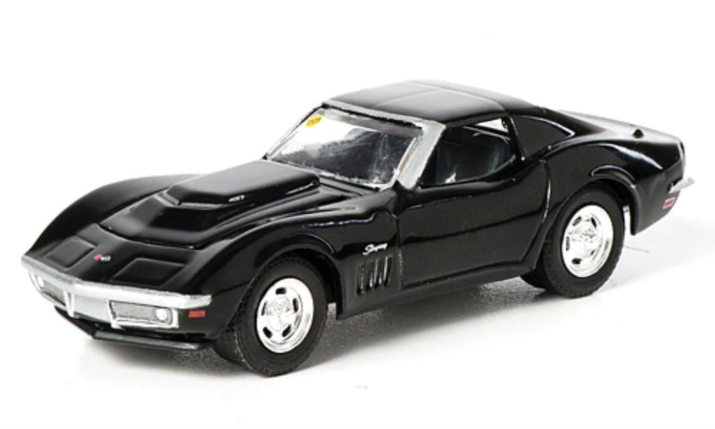 Chevrolet Corvette C2 1/64 Greenlight  L88 noire 1969 miniature