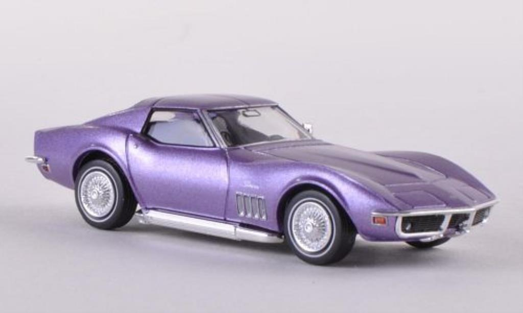 Chevrolet Corvette C3 1/87 Brekina  lila diecast