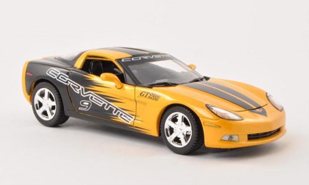 Chevrolet Corvette C6 1/24 Motormax No.9 2005 diecast