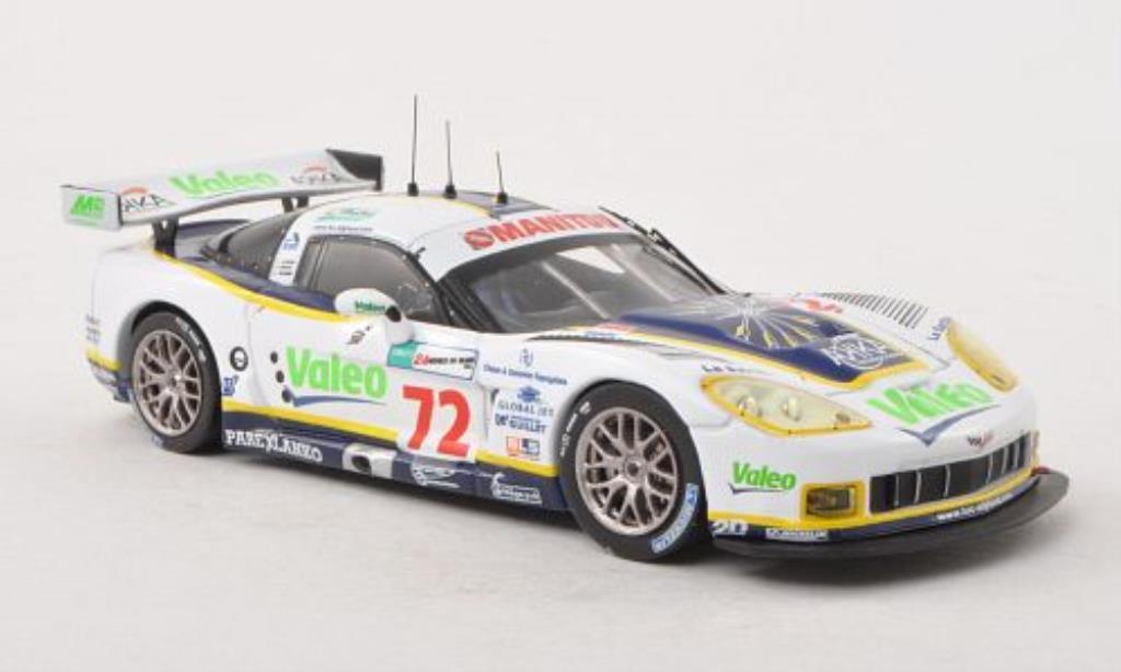Chevrolet Corvette C6 1/43 IXO C6.R No.72 Valeo / Manitou 24h Le Mans 2008 /J.Policand diecast