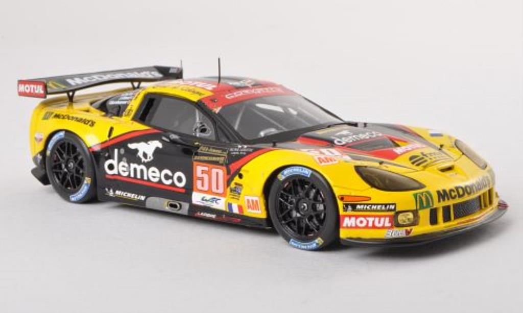 Chevrolet Corvette C6 1/43 Spark .R ZR1 No.50 Larbre Competition 24h Le Mans 2013 /R.Taylor diecast model cars