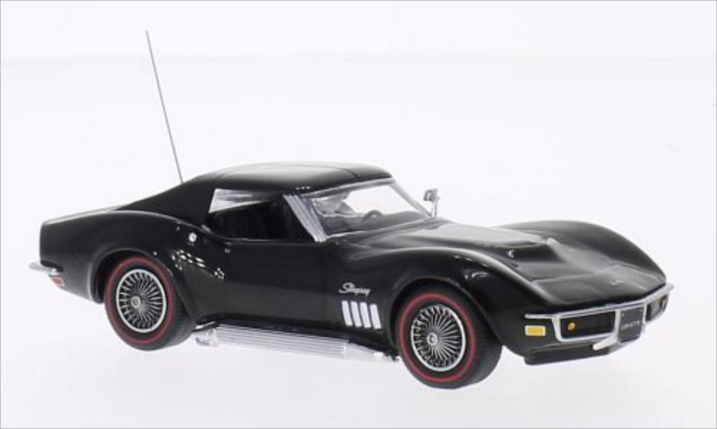 Chevrolet Corvette C3 1/43 Vitesse Coupe black 1969 diecast model cars