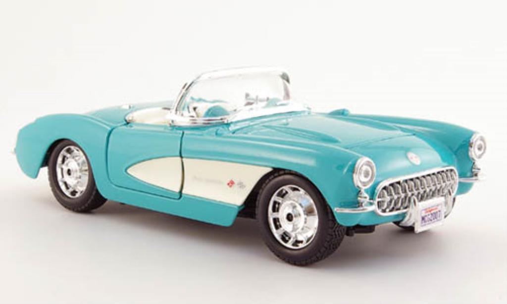 Chevrolet Corvette C1 1/24 Maisto mint 1957 diecast model cars