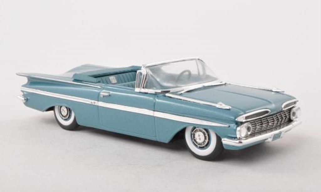 Chevrolet Impala 1/43 Vitesse Convertible bleu 1959 miniature