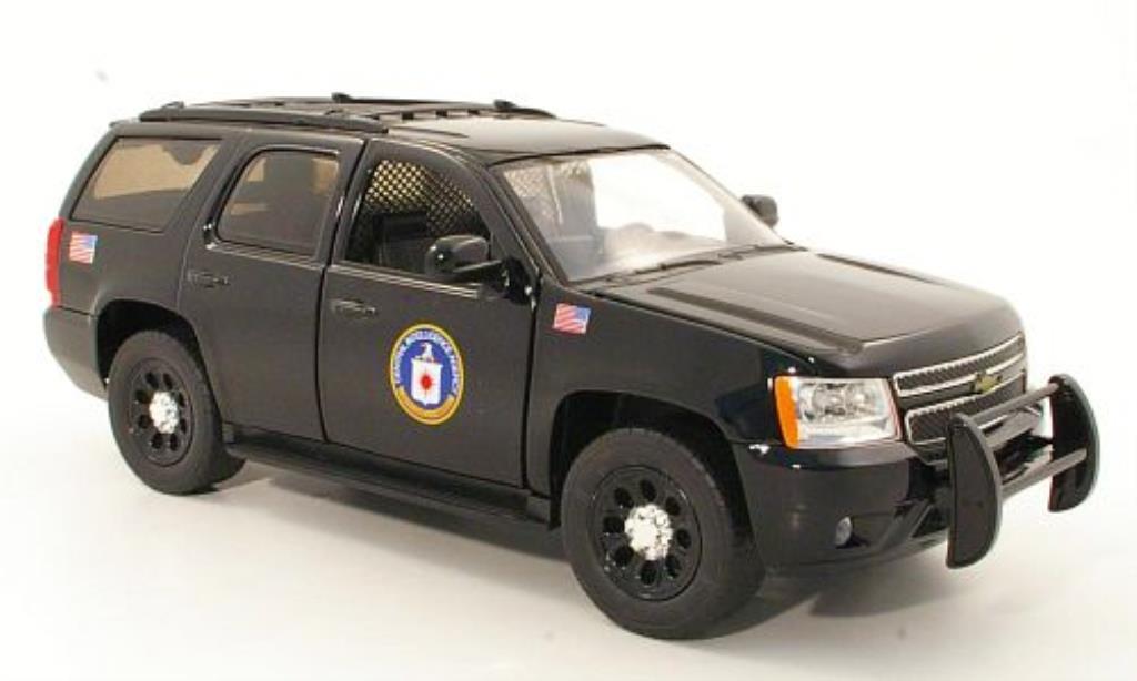 Chevrolet Tahoe 1/24 Jada Toys CIA 2010 miniatura