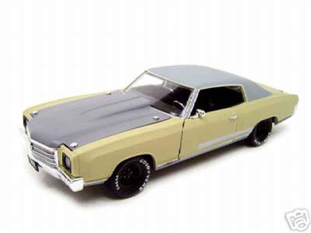 Chevrolet Monte Carlo 1/18 Ertl 1970 fast and furious 3 tokyo drift miniature