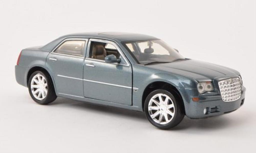 Chrysler 300C 1/24 Motormax HEMI grise miniature