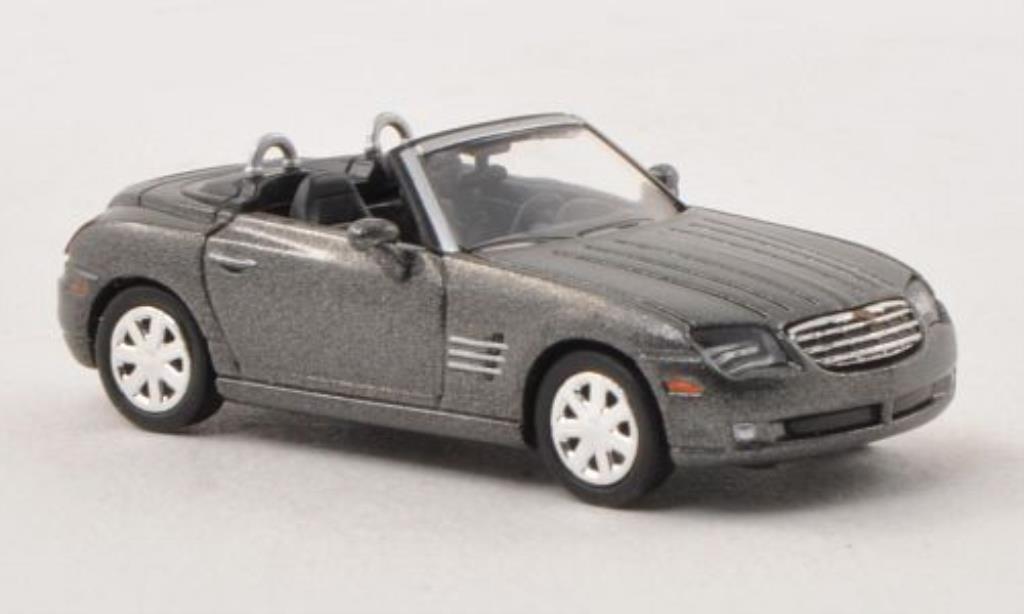 Chrysler Crossfire 1/87 Busch Roadster grise 2009 miniature