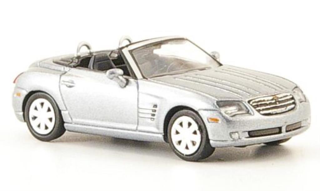 Chrysler Crossfire 1/87 Ricko Roadster grise miniature