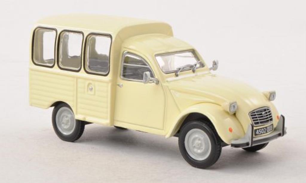 Citroen 2CV 1/43 Eligor AKS 400 beige miniature