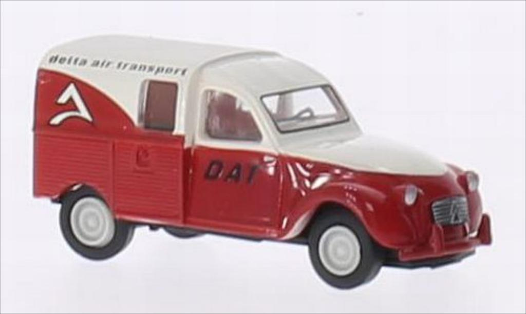 Citroen 2CV 1/87 Brekina AZU Delta air transport (F) miniature