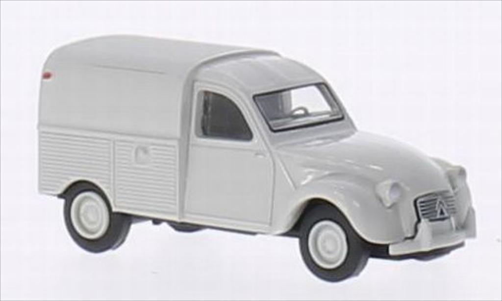Citroen 2CV 1/87 Brekina AZU grise miniature