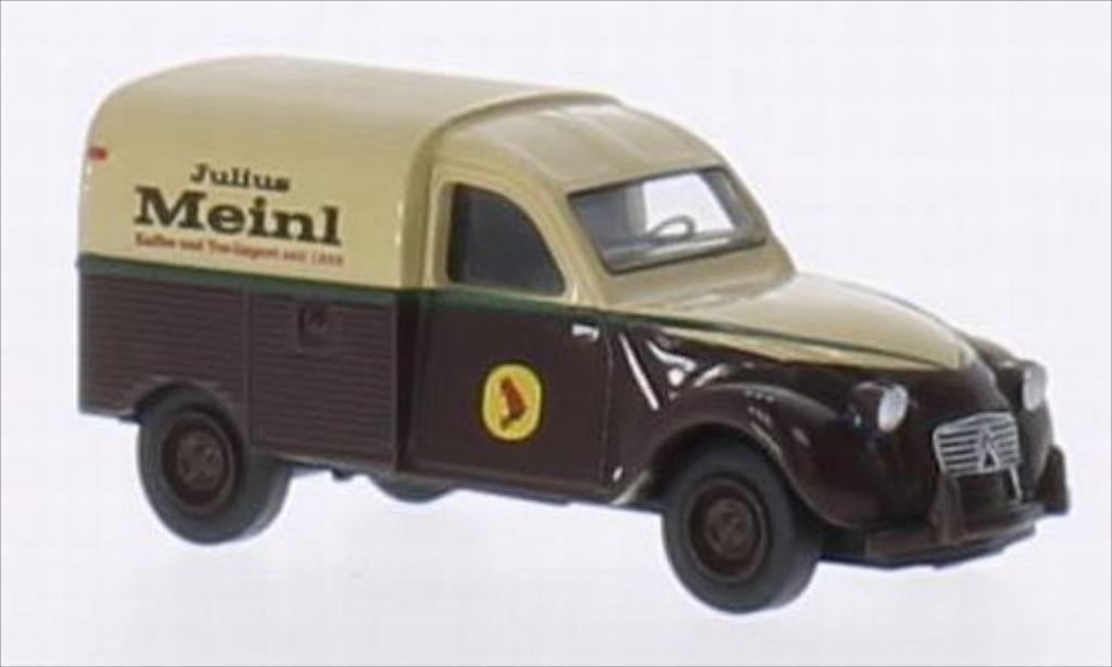Citroen 2CV 1/87 Brekina AZU Julius Meinl miniatura