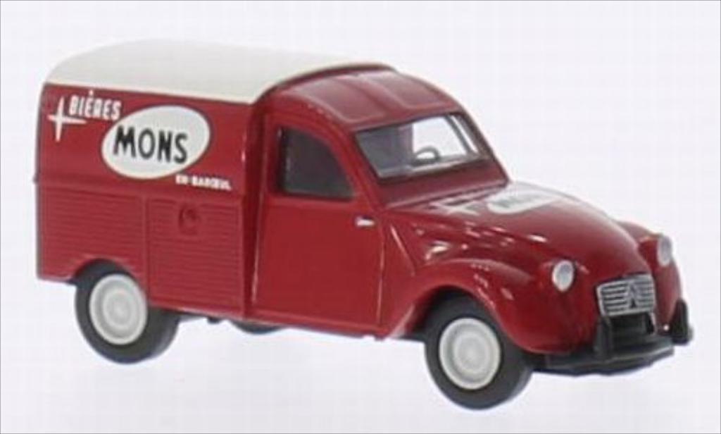 Citroen 2CV 1/87 Brekina AZU Mons Biere (B) miniature