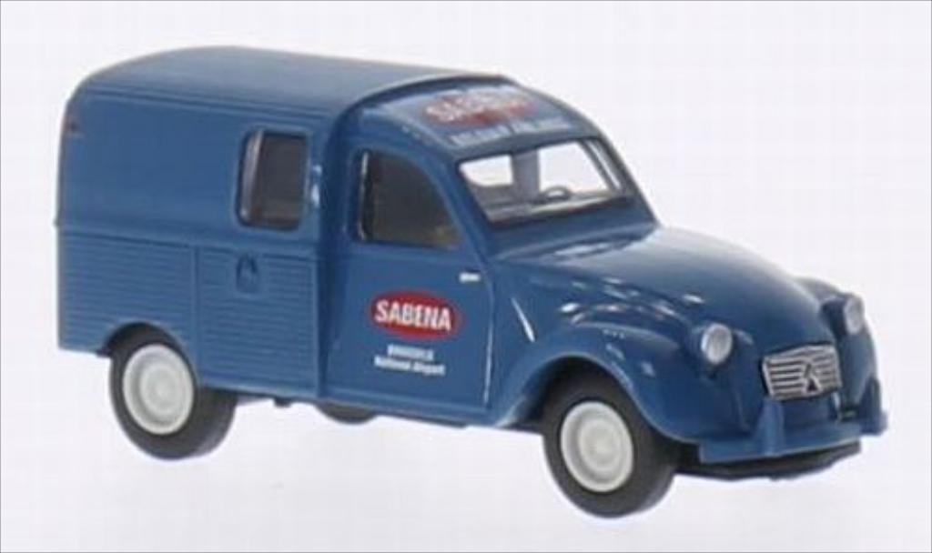 Citroen 2CV 1/87 Brekina AZU Sabena (B) miniature
