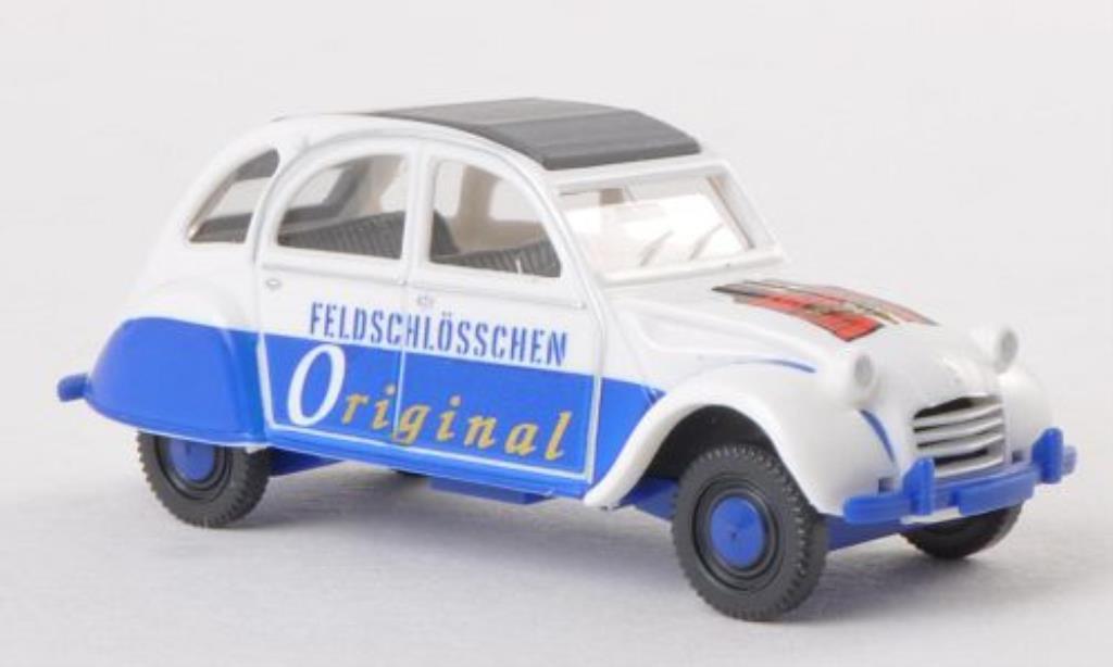 Citroen 2CV 1/87 Wiking Feldschlosschen Original miniature