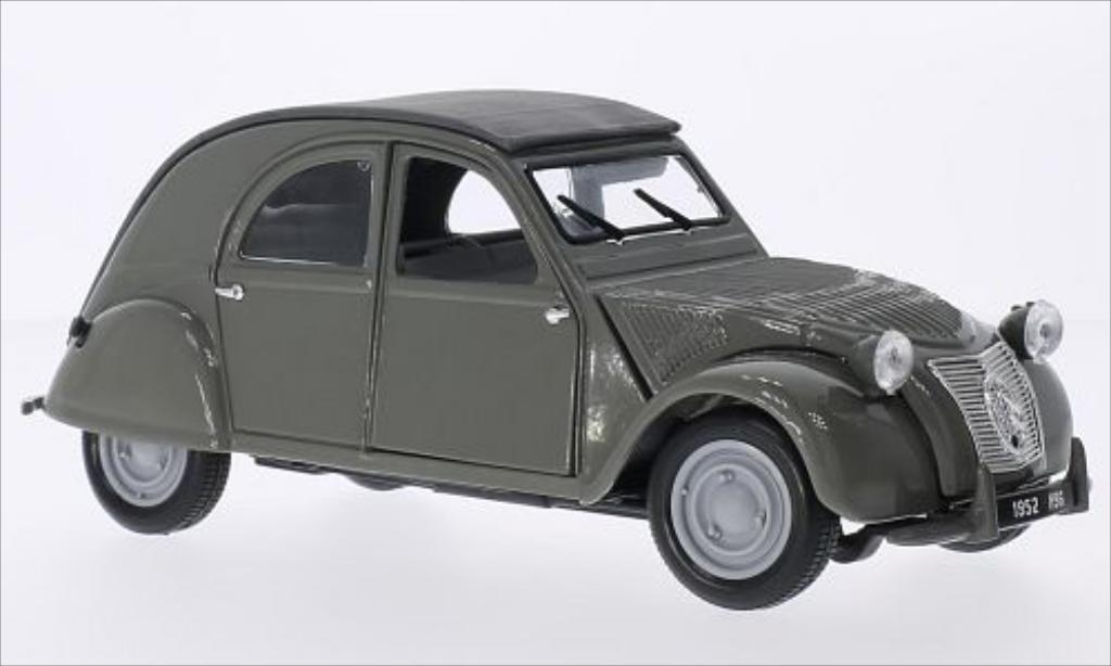 Citroen 2CV 1/18 Maisto grigia 1952 miniatura