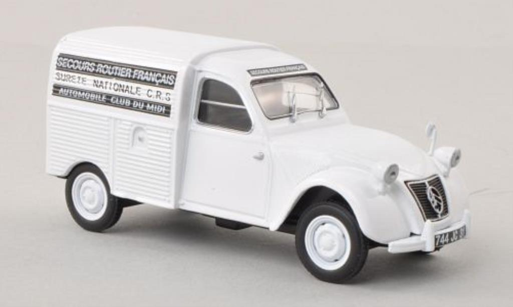 Citroen 2CV 1/43 Eligor Kasten Secours Routier Francais diecast model cars