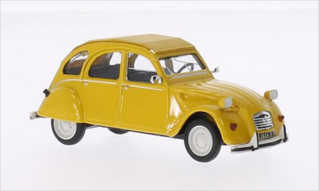 Citroen 2CV V6 1/43 Vitesse Club yellow 1981 diecast