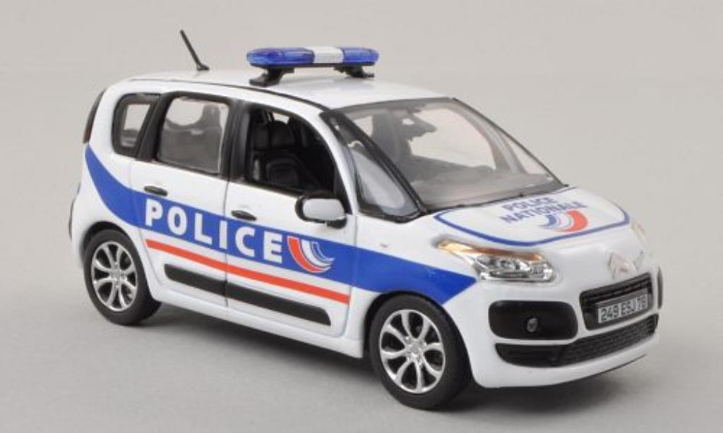 Citroen C3 1/43 Norev Picasso Police Nationale Polizei (F) 2011 miniature