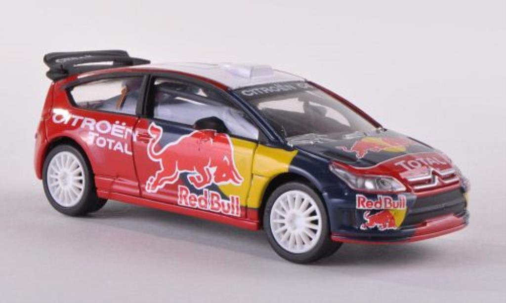 Citroen C4 WRC 1/43 Norev No.1 Red Bull/Total