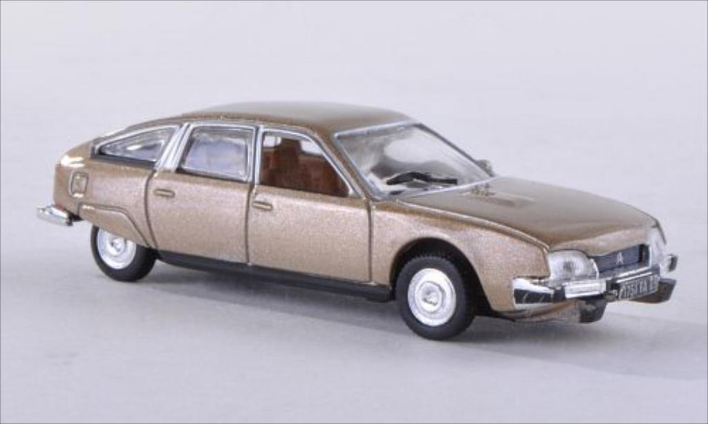 Citroen CX 1/87 Norev 2000 metallise beige 1975 diecast model cars
