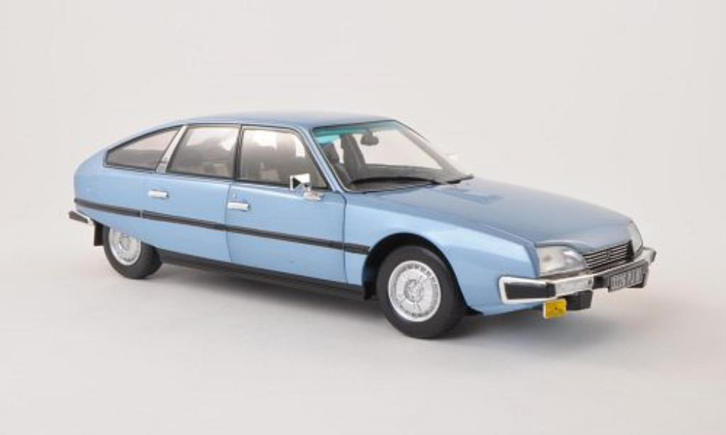 Citroen CX 1/18 Norev 2400 GTI bleu 1977 miniature