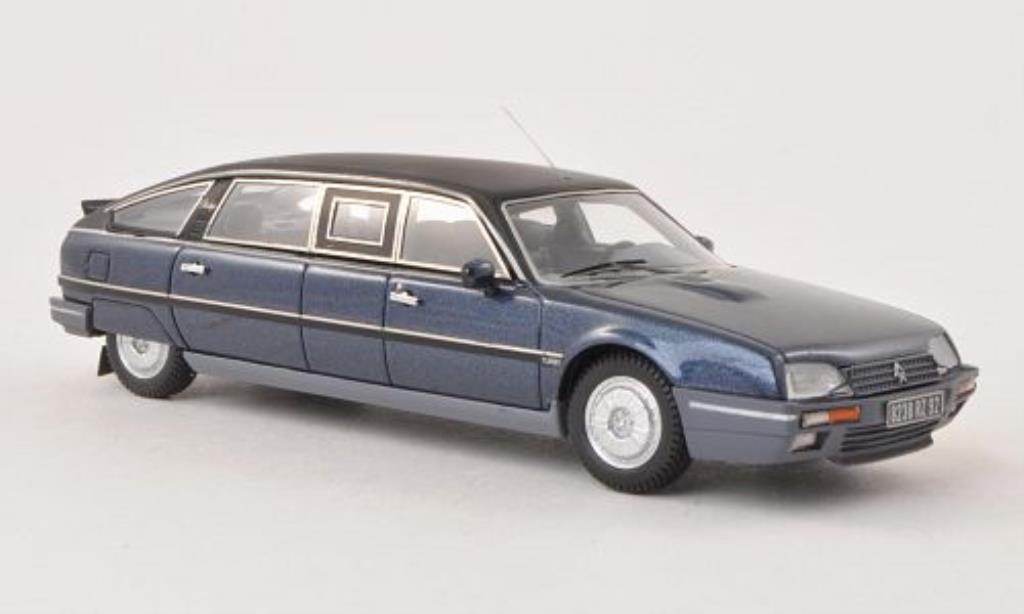 Citroen CX 1/43 Matrix Tissier Limousine DDR bleu/matt-black 1986 diecast model cars