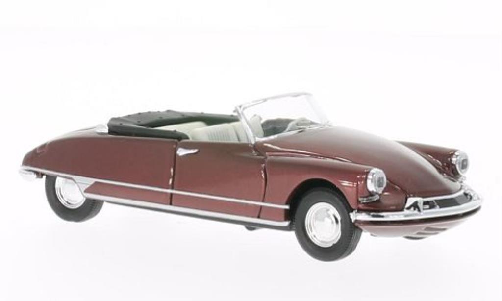 Citroen DS 19 1/43 Rio Cabriolet rosso 1961 miniatura
