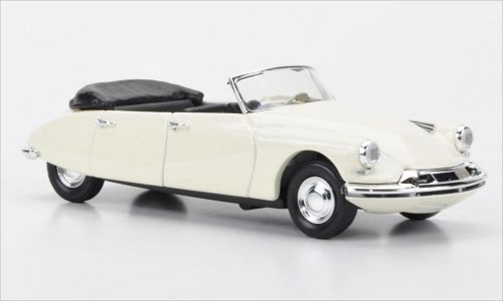 Citroen DS 19 1/43 Rio Cabriolet Reutter 4-Turer blanche 1960 miniature