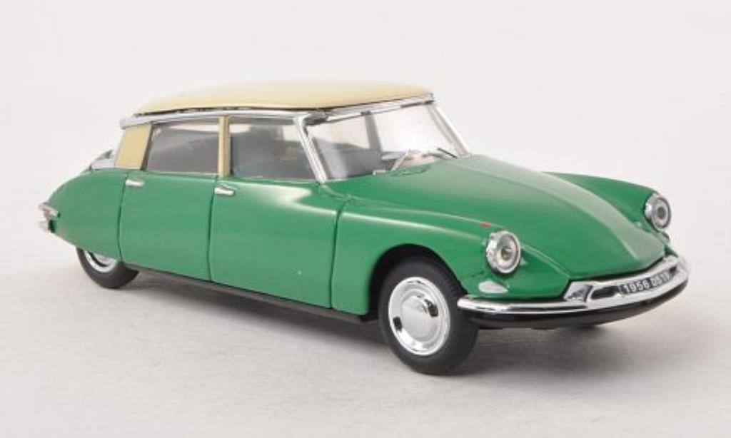 Citroen DS 19 1/43 Vitesse 19 grun/beige 1956 diecast model cars