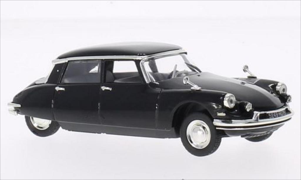 Citroen DS 19 1/43 Norev 19 black 1962 diecast model cars