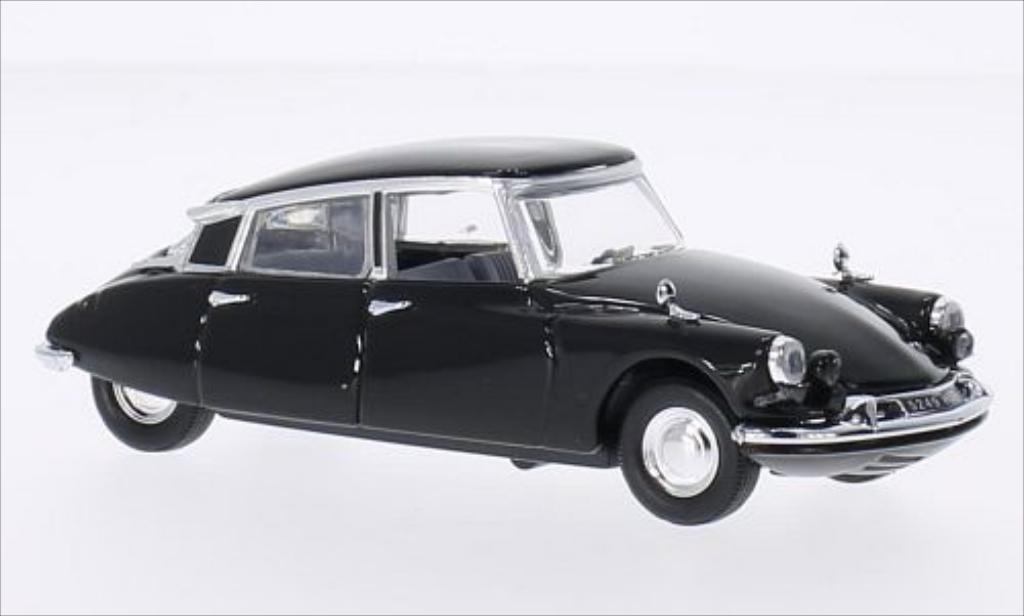 Citroen DS 19 1/43 Rio noire 1962 miniature