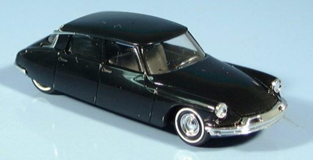 Citroen DS 19 1/87 Busch noire mit Pneumatisimulation 1955 miniature
