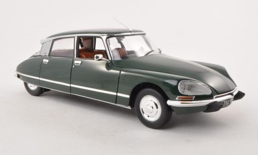 Citroen DS 23 1/18 Norev 23 Pallas grun 1972 miniature