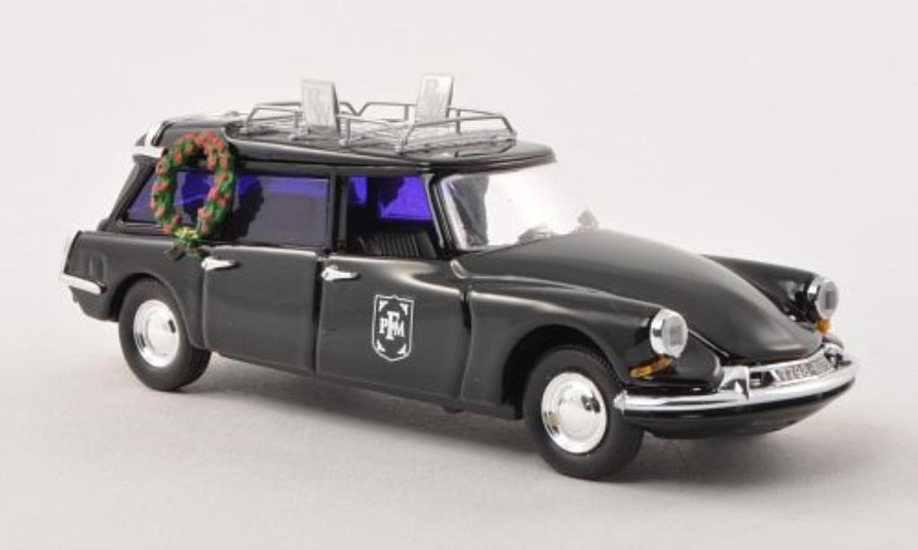 Citroen DS 1/43 Rio Break Bestattungswagen noire miniature