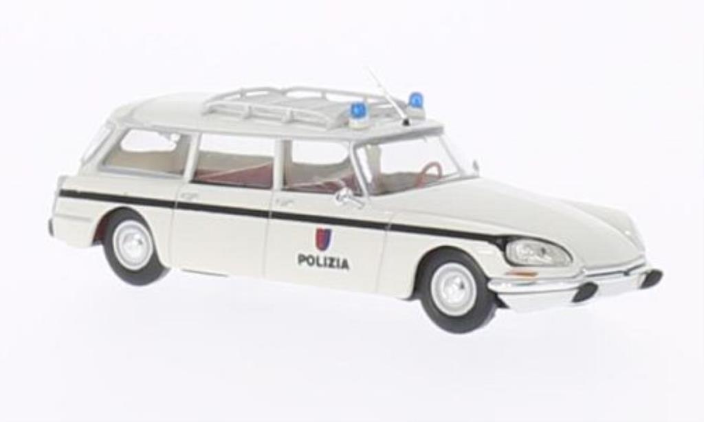 Citroen DS 1/87 Brekina Break Polizia Polizei (CH) miniature