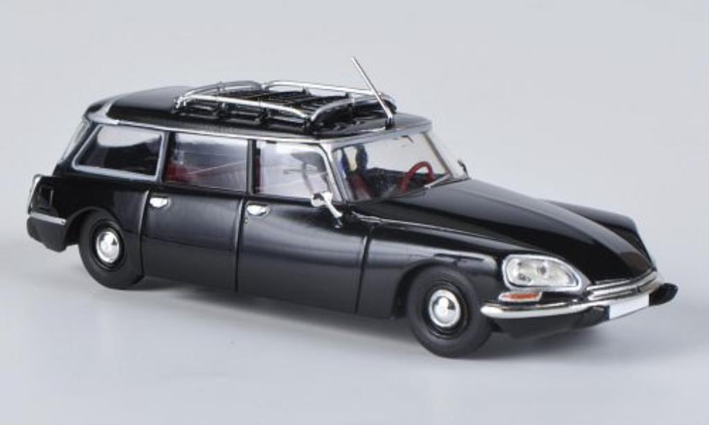 Citroen DS 1/87 Brekina Break noire miniature