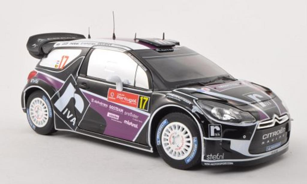 DS Automobiles DS3 1/18 Norev WRC No.17 Riva Rally Portugal 2012 miniature