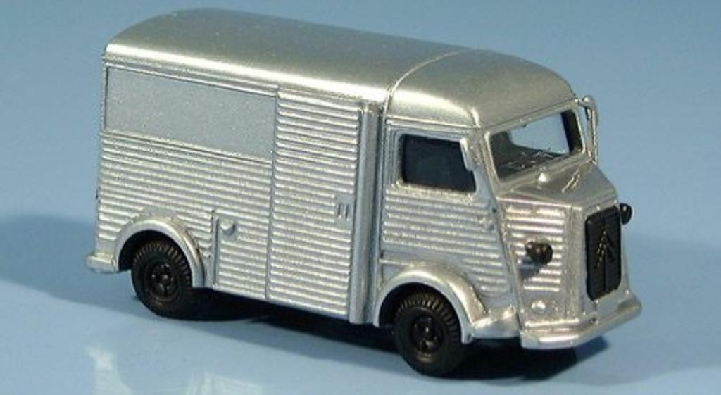 Citroen HY 1/87 Busch grey diecast model cars