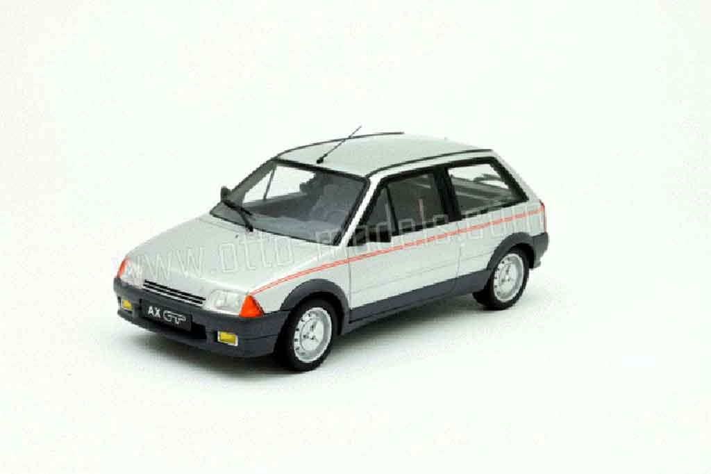 Citroen AX 1/18 Ottomobile gt grise miniature
