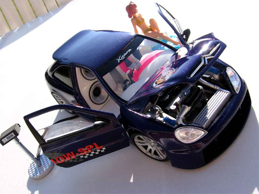 Citroen Xsara tuning 1/18 Solido show spl miniatura