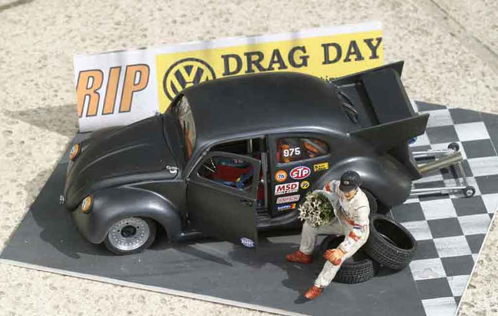 Volkswagen Kafer Drag Run 1/18 Solido cox de run miniature
