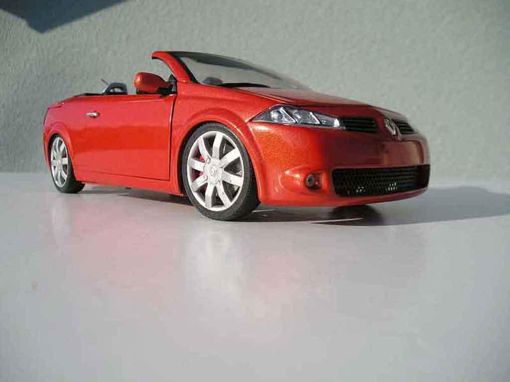 Renault Megane CC 1/18 Solido rs cabriolet miniature