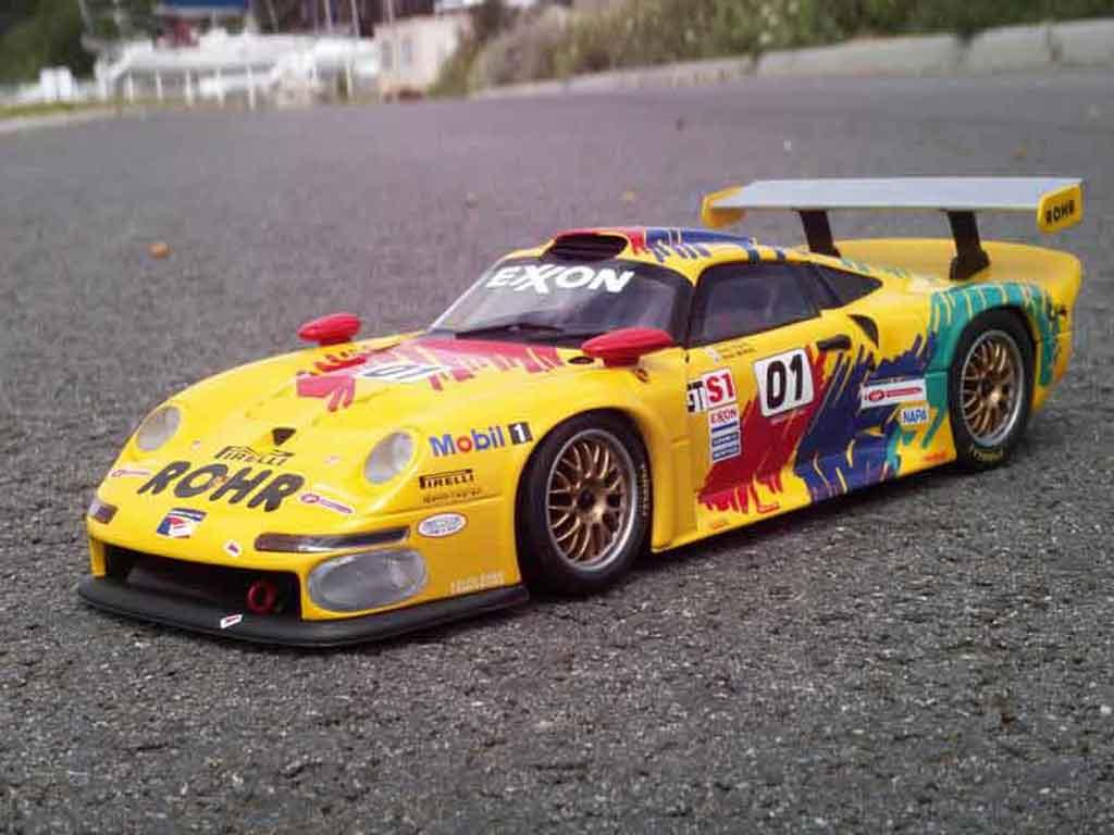 Porsche 993 GT1 1/18 Ut Models GT1 rvo 97 #01 rohr miniature