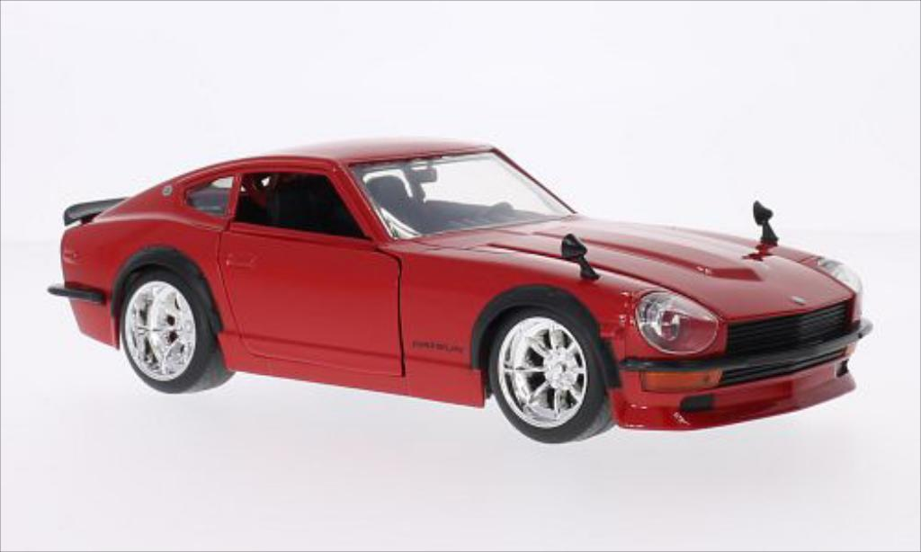 Datsun 240Z 1/24 Jada Toys Toys Tuning rouge 1972 miniature