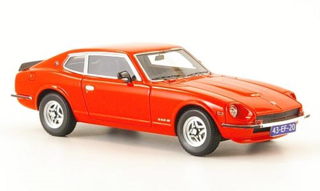 Datsun 260Z 1/43 Neo 2+2 rosso 1975 miniatura