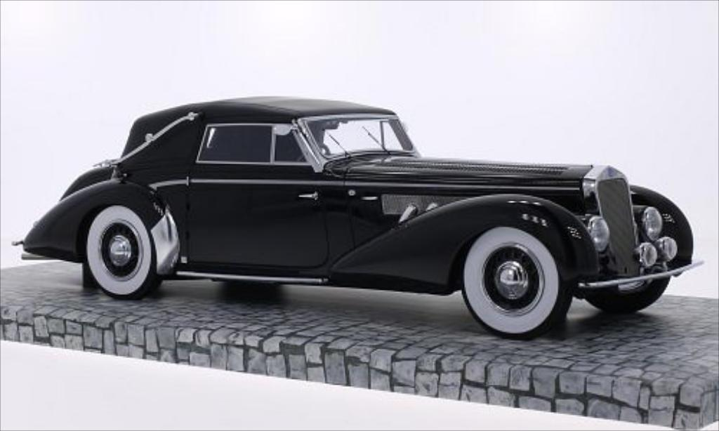 Delage D8-120 1/18 Minichamps Cabrio noire 1939 miniature