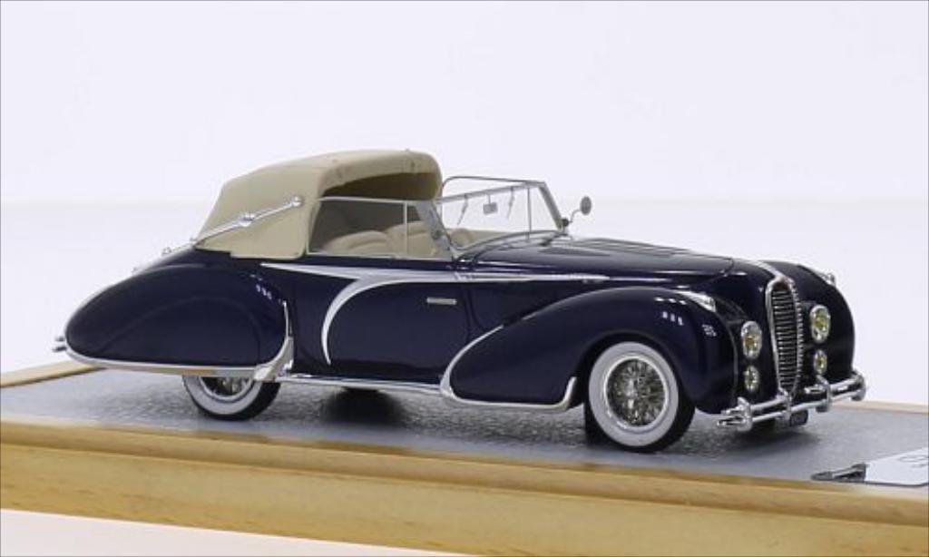 Delahaye 135 1/43 Chromes Cabriolet Figoni Falaschi bleu RHD 1948 miniature
