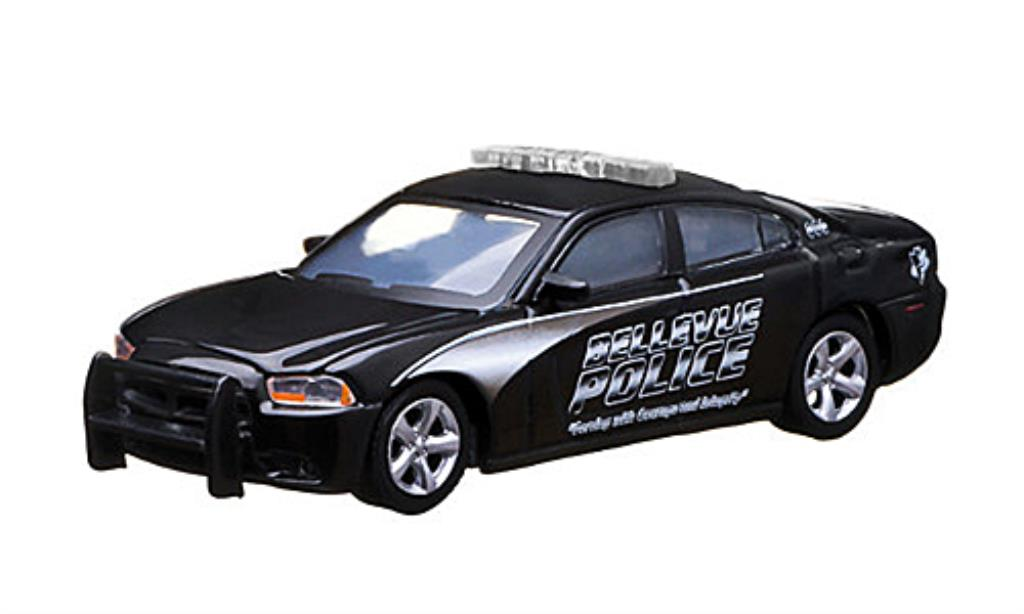 Dodge Charger 1/64 Greenlight Bellevue Police Polizei (USA) 2012 miniatura